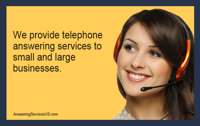 We Provide Telephone Answering Services - AnsweringServicesUS.com